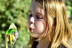 Gefühle des kleinen Mädchens Lizenzfreies Stockbild