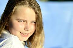 Gefühle des kleinen Mädchens Stockfoto