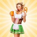 Gefühle und Oktoberfest lizenzfreies stockfoto