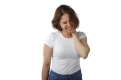 Gefühlleidleidenbedauernschmerz-Druckverzweiflung lizenzfreies stockbild