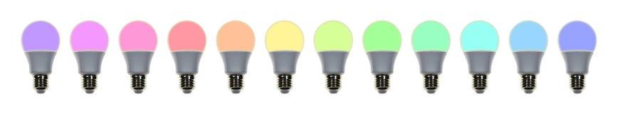 Geführte Lampe Lizenzfreie Stockbilder