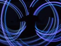 Geführte Leuchten Stockfoto