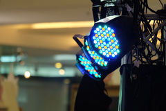 Geführte lichttechnische Ausrüstung Stockfotografie