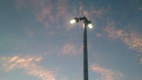 Geführte Straßenbeleuchtungsbefestigung Lizenzfreie Stockfotos