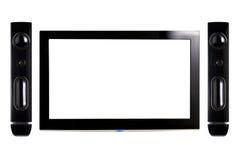 Geführter Fernsehapparat Stockbilder