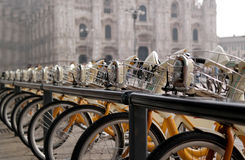 Geführtes Fahrrad Lizenzfreie Stockfotografie
