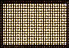 Geführtes Flutlicht mit Vorhängen für Video und Fotografie Stockbild