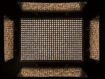 Geführtes Flutlicht mit Vorhängen für Video und Fotografie Lizenzfreie Stockbilder