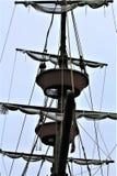 Gefürchtetes Piraten-Schiff stockfotografie