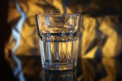 Gefacetteerd glas royalty-vrije stock afbeelding