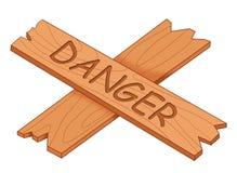 Gefahr vektor abbildung
