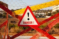 Gefahr Stockfotos