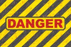 Gefahr Lizenzfreies Stockfoto