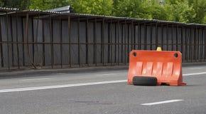 Gefahr auf der Straße Stockfoto