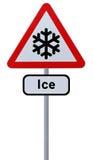 Gefahr des Eises voran Stockfotos