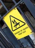 Gefahr des Todes Lizenzfreies Stockbild
