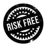 Gefahr geben Stempel frei Lizenzfreie Stockfotografie