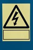 Gefahr! Hochspannung! Stockbild