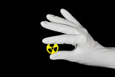 Gefahr: Radioaktiv Lizenzfreies Stockfoto
