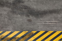 Gefahr-Streifen Stockfotos