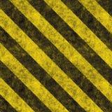 Gefahr-Streifen Stockfoto