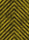 Gefahr stripes Warnzeichen Stockfoto