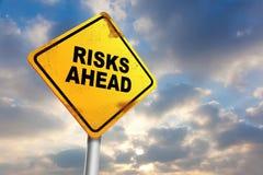 Risiko voran Lizenzfreies Stockfoto