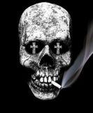 Gefahren des Rauchens stockbilder