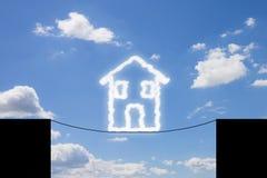 Gefahren und Gefahren eines Hauses lizenzfreies stockfoto