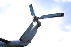 Gefahrendrehender Propeller Lizenzfreie Stockfotos