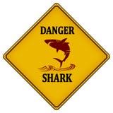 Gefahrenhaifisch stock abbildung