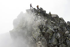 Gefahrenspitze des Berges Lizenzfreies Stockbild