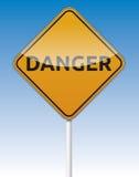 Gefahrenverkehr Lizenzfreie Stockfotos