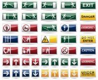 Gefahrenwarnzeichen Stockbilder