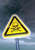 Gefahrenzeichen Lizenzfreie Stockbilder