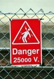 Gefahrenzeichen Lizenzfreies Stockbild