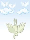 Gefallener Engel Lizenzfreie Abbildung