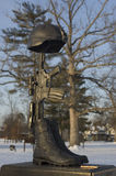 Gefallenes Soldat-Denkmal Stockbilder
