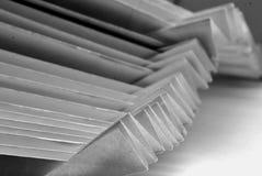 Gefaltetes Papier lizenzfreie stockfotos