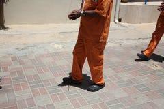 Gefangene von Carmel Prison Stockbilder
