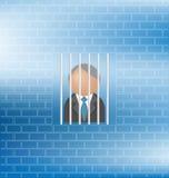 Gefangener stock abbildung