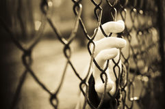 Gefangener Stockbild