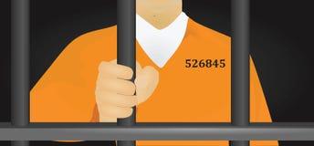 Gefangener lizenzfreie abbildung