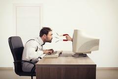 Gefangennehmen von Leuten mit Marketing lizenzfreie stockbilder
