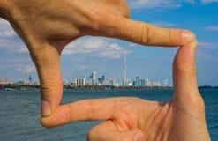 Gefangennehmen von Toronto stockfotos
