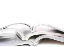Geöffnete Bücher Lizenzfreies Stockbild