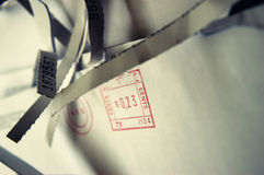 Geöffnete Post Stockfotos