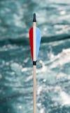 Gefiederpfeil für Bogenschießen lizenzfreie stockfotografie