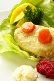 Gefilte fish Royalty Free Stock Photography