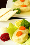 Gefilte fish Royalty Free Stock Photos